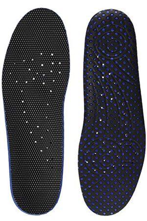 Bama Fresh Deo komfort fotbädd, sko innersula för hygieniska färska fötter, unisex, /blå45 EU