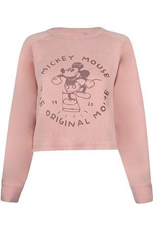 Disney Dam den ursprungliga musbeskuren crew pullover