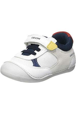 Geox Baby-flicka B Tutim A First Walker sko, vit21 EU