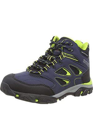 Regatta Unisex barn Chaussures Techniques De Marche Junior Holcombe vandringssko, Marinblå limestansch - 30 EU
