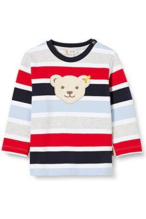 Steiff Baby-pojkar med söt teddybärapplikation tröja