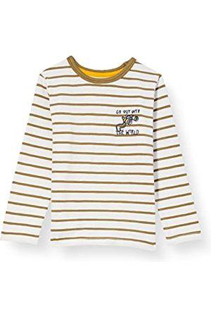Noppies Baby-pojkar B Y/D Stripe Ls Truro t-shirt