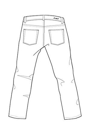 Hackett Herr Classic Denim Straight Jeans