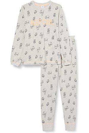 Sanetta Pojkar lång grå baby- och småbarn sovplagg