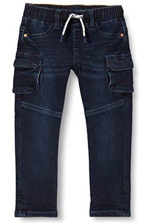 Noppies Baby-pojkar B normal passform byxor stjärnrum denim jeans
