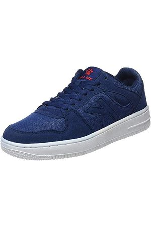 kelme Unisex retrobascket jeans sneakers, denim 687-40 EU