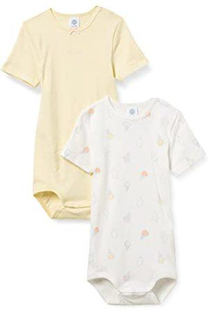 Sanetta Baby-flicka kropp beige små barn underkläder set