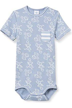 Sanetta Baby-pojkar kropp blå små barn underkläder set