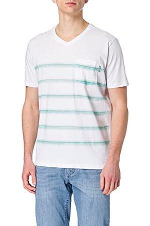 Pioneer Herr V-Neck med ränder t-shirt