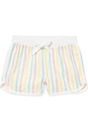 Sanetta Flickor shorts randig gul pyjamas underdel