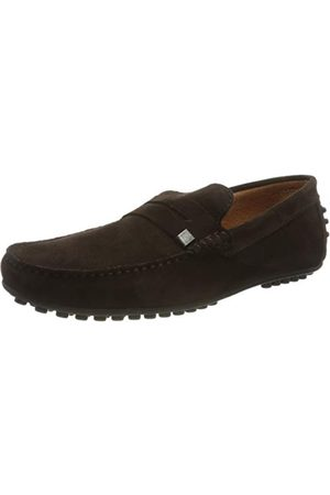 J.bradford Herr Jb-sandiego511 Marron Loafer Flat