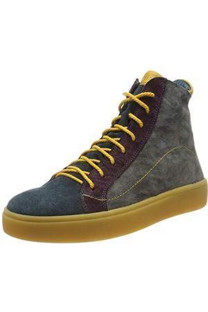 Think! Tänk! Damer Gring_585208 Desert Boots, antracit kombi 15-41.5 EU