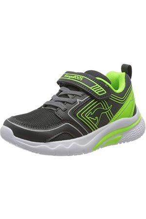 KangaROOS Unisex barn Kk-hero V sneaker, stål lime 2014-28 EU
