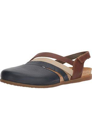 El Naturalista Zumaia sandaler med stängd tå för kvinnor, Blue Ocean Mixed Ocean Mixed6 UK