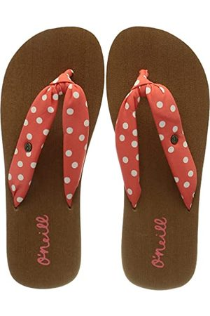 O'Neill Flickor vävd rem sandaler flip-flop, apelsin - 35 EU