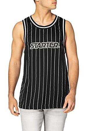 STARTER BLACK LABEL Män startpinstripe tanktopp t-shirt