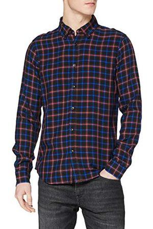 Scotch&Soda Män normal passform – lätt vikt Check skjorta
