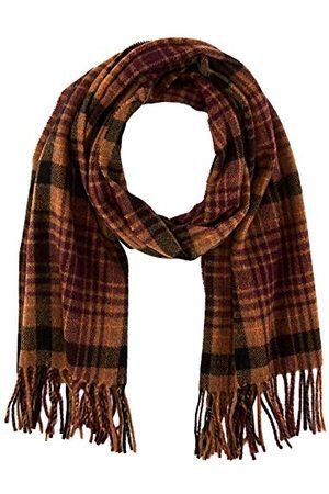 Scotch&Soda Herr Classic Woven Checked Wool-Blend Scarf Belt