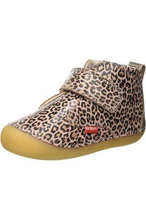 Kickers Baby-pojkar Sabio stövel, Leopardbeige24 EU