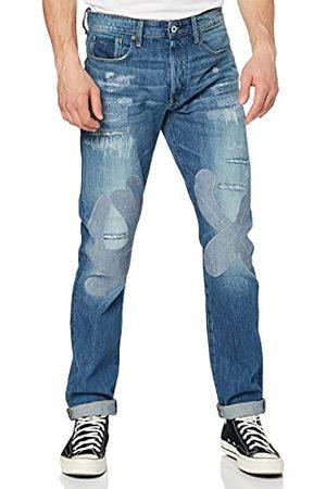 G-Star Herr 3301 rak återställd avsmalnande passform jeans