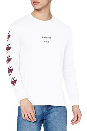Superdry Herr Sportstyle Graphic Ls Top T-Shirt