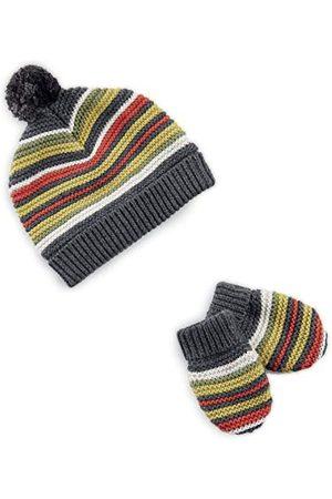 Mamas & Papas Mamas and Papas Baby pojkar multirandig hatt & vantar