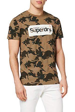 Superdry Herr Core Logo Tag Camo Aop t-shirt