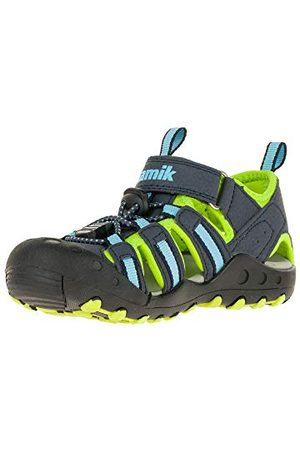 Kamik Unisex pojkar krabba slutna sandaler, marinblå blå29 EU