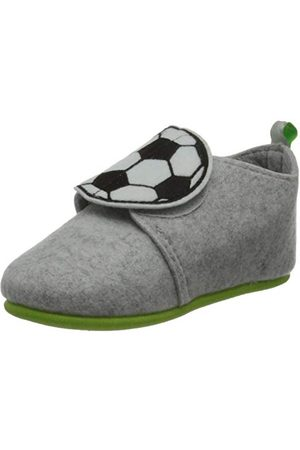 Playshoes Pojkar fotboll tofflor, - GRÅ - 29 EU