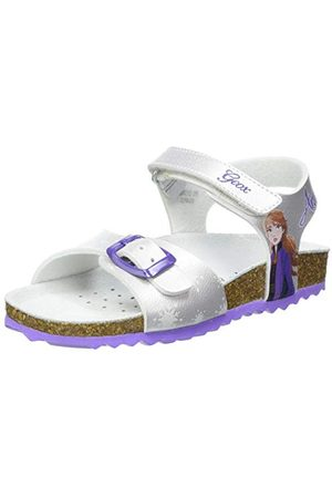 Geox Flicka J adriel flicka C sandal, himmel - 39 EU