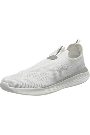 KangaROOS Unisex Kq-alert Sneaker, Vitt silver42 EU