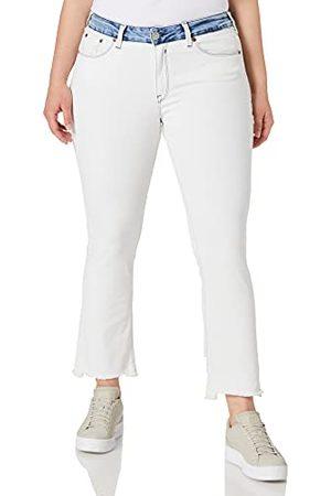 Herrlicher Super G Boot Cropped Denim White Mix Jeans