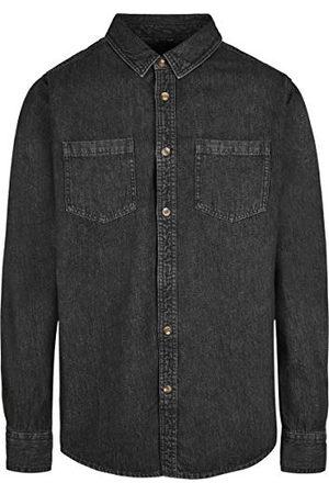 Build Your Brand Herrdenim jeans skjorta