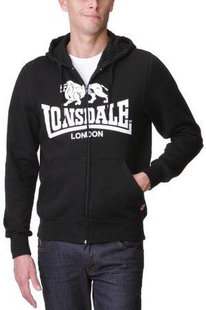 Lonsdale London Herrtröja sweatshirt Slim Fit Hooded Zip Krafty