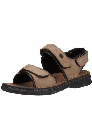 Josef Seibel Rafe män Slingback sandaler, 121 Stone svart43 EU