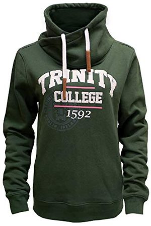 Trinity Collection Pullover tröja för män, gRÖN, XL