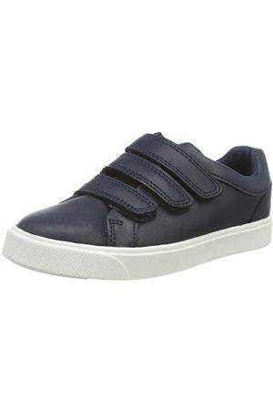 Clarks Boys City Oasislo K Sneaker, marinblå marinblå35 EU