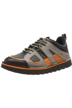 Art Unisex vuxna 1581 multi läder - /Ontario Brogues, Grå orange36 EU