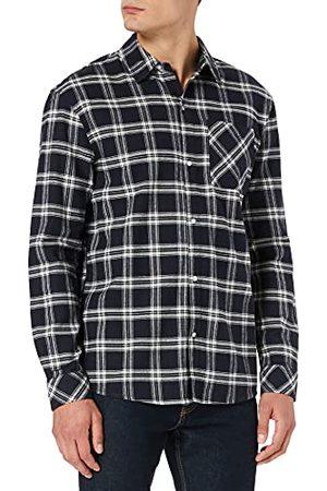 Urban classics Herr överdimensionerad Check Shirt sweatshirt