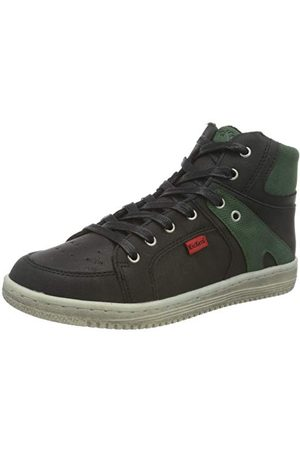 Kickers Pojkar Lilukro Sneaker, Marine Metallise1 UK