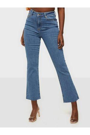 Vero Moda Kvinna Bootcut - Vmstella Hr Kick Flare Jeans BA3204 High waisted jeans