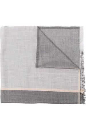 Brunello Cucinelli Man Sjalar - Rektangulär sjal med franskant