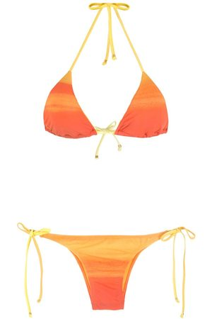 AMIR SLAMA Randig bikini i ombré