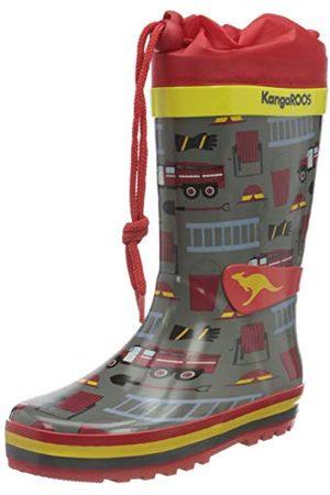 KangaROOS Unisex barn K-sommarrain sneaker, brandman28 EU
