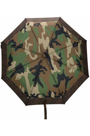 Moschino Regnkläder - Kamouflagemönstrat paraply