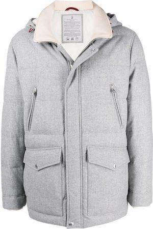 Brunello Cucinelli Man Vinterjackor - Hooded padded coat
