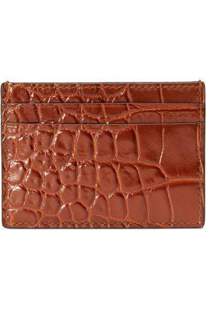 Gucci Man Plånböcker - Crocodile card case