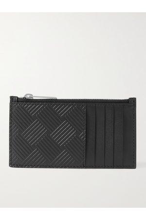 Bottega Veneta Intrecciato-Debossed Zipped Cardholder