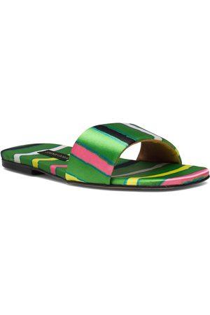STINE GOYA Henra, 1193 Satin Shoes Shoes Summer Shoes Flat Sandals