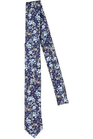 Grunt Pojke Slipsar - Slips - Flower - Navy Flower